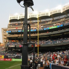 Soccer and TowerCam debut at Yankee Stadium